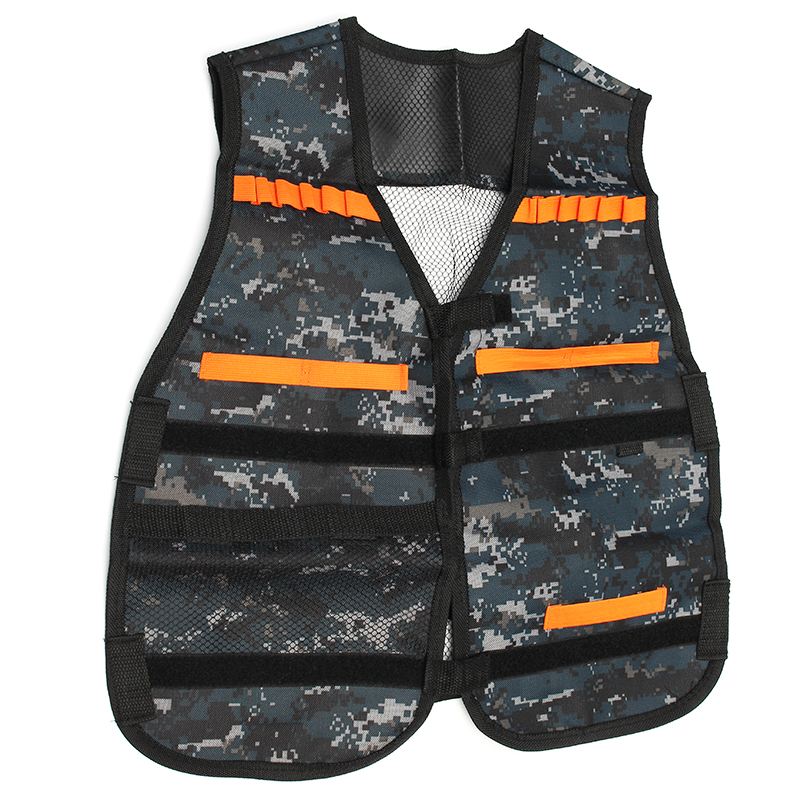 WORKER Tactical Vest Jacket For NERF N-Strike Elite Toys