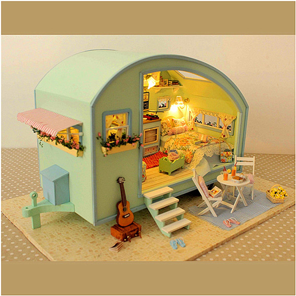 CuteRoom DIY Transparent Display Box Dust-proof Cover Dollhouse X-006 X-009 A-012 A-008 Parts