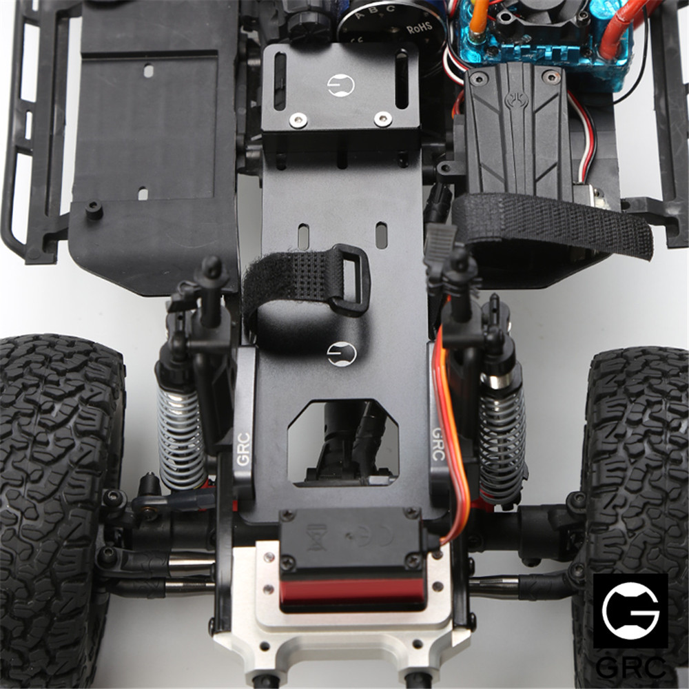 GRC Low Center Gravity Metal Battery Relocation Plate for Axial SCX10 Ⅱ 90046 Cherokee Rc Car Parts