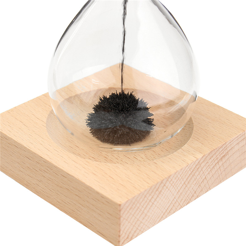 Hand-blown Glass Sand Magnet Magnetic Hourglass Timer Clock Gift Home Decor Novelties Toys
