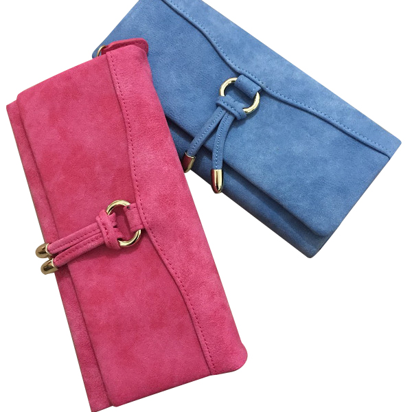 Description Item Type 3 Fold Nubuck Phone Wallet Material Nubuck Leather Lining Material Polyester Color Black, Blue, Gray, Rose Red, Pink, Gray Weight 155g Length 19cm (7.48'') Height 9cm (3.54'') Width 0.5cm (0.20'') Pattern Solid Capacity 5.5'' Phone P #purse