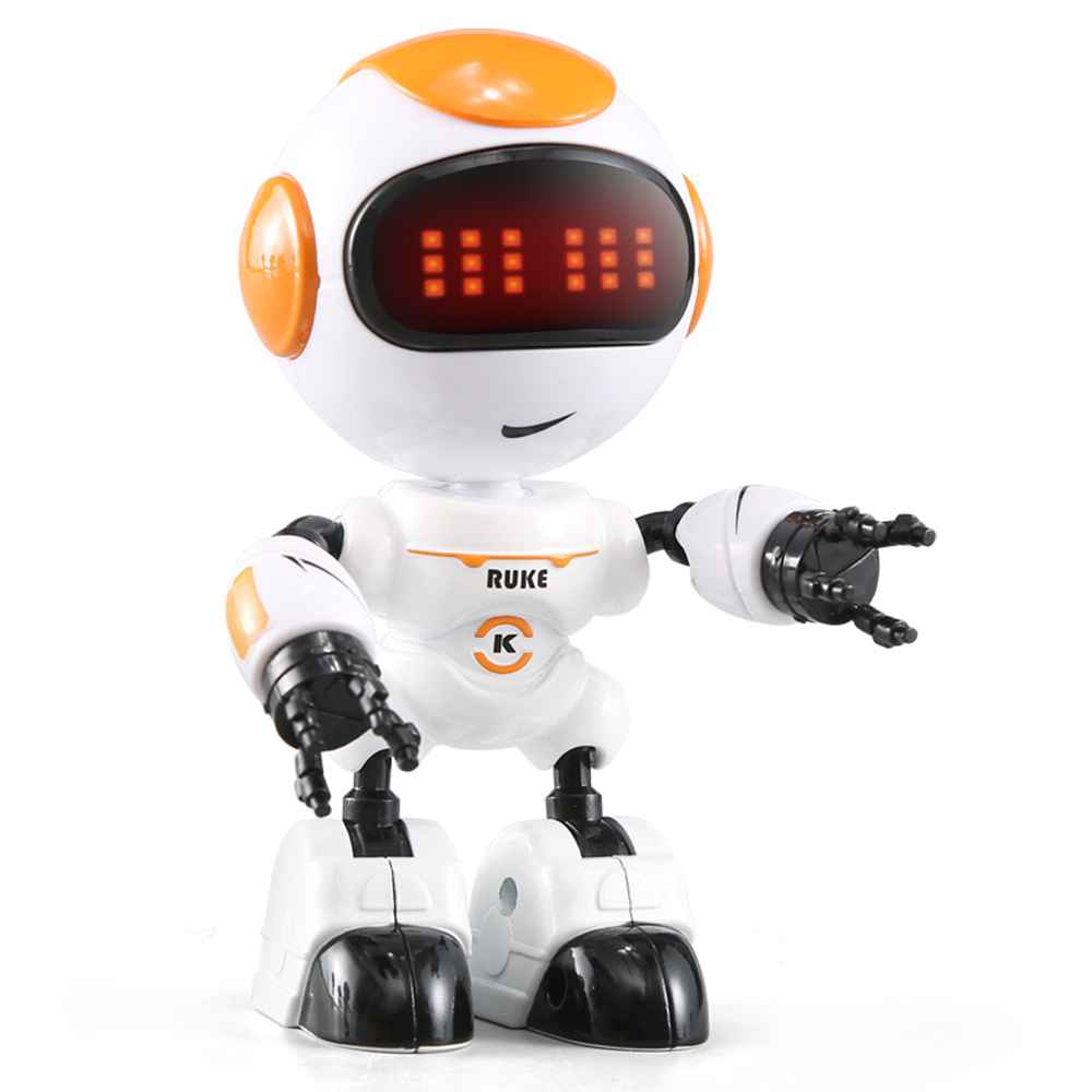 JJRC R8 RUKE Touch Control DIY Gesture Mini Smart Voiced Alloy Robot Toy