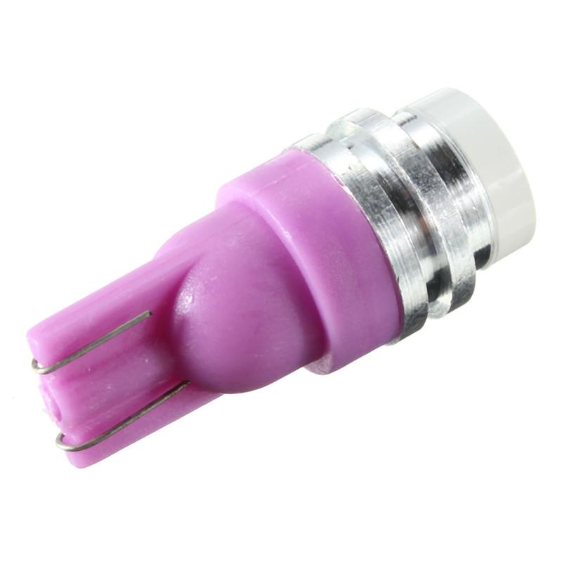 Changing Color RGB 1 LED COB T10 W5W Wedge Side Light Car Bulb Lamp 12V