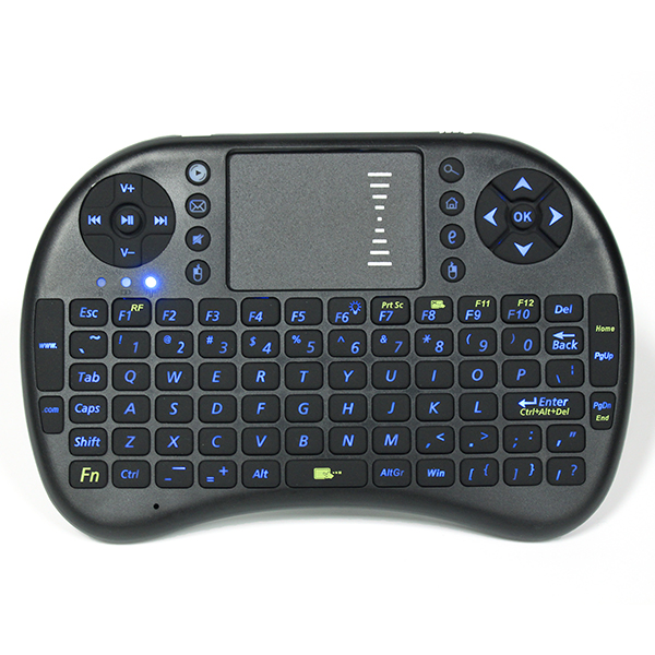 I8 PRO 2.4Ghz Wireless Blue Backlit Mini Keyboard Air Mouse Touchpad for TV Box PC