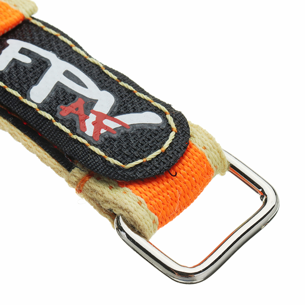 2Pcs RJX FPV AF 230x20mm Colorful Tie Down Battery Strap with Metal Buckle for RC Drone Battery