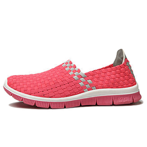 Women Casual Knitting Outdoor Soft Flat Slip On Shoes