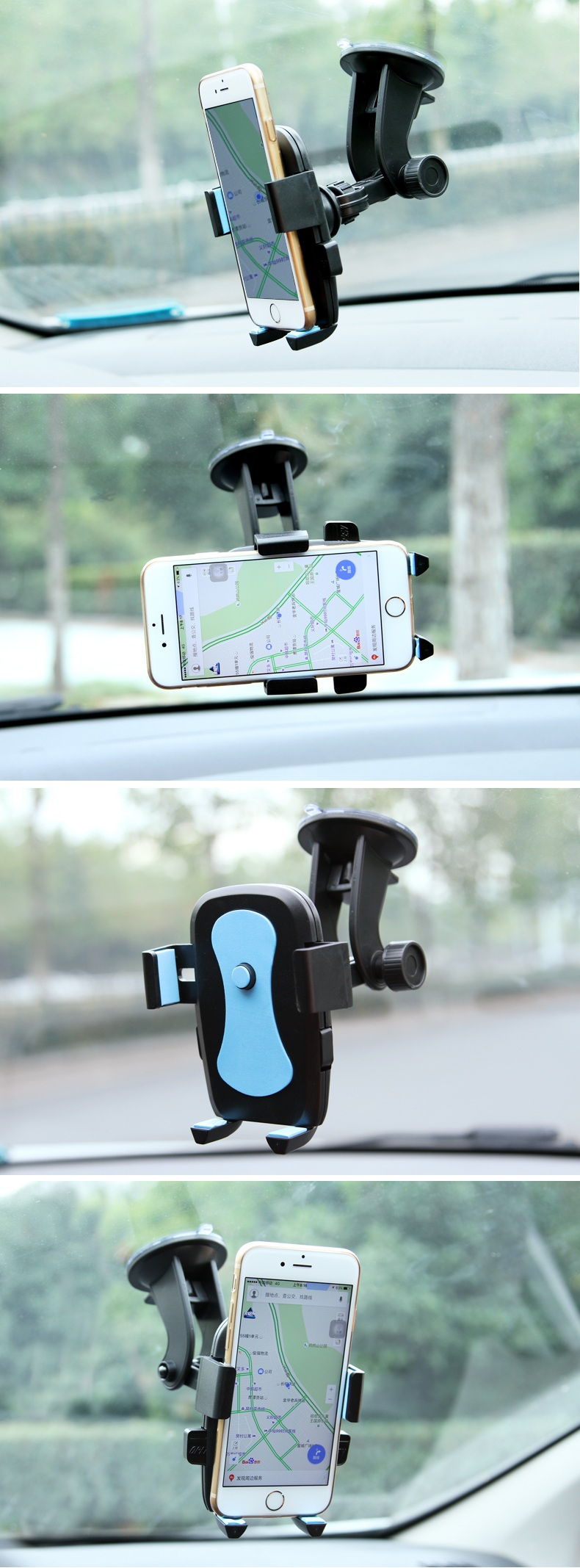 Bakeey™ Car Dashboard Holder Phone Stand Sucker Car Mobile Bracket for iPhone Samsung Xiaomi GPS