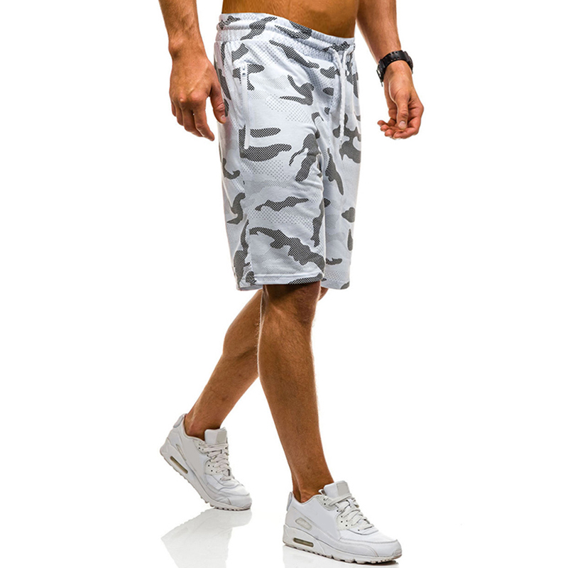 Men's Summer Cotton Breathable Printed Casual Shorts