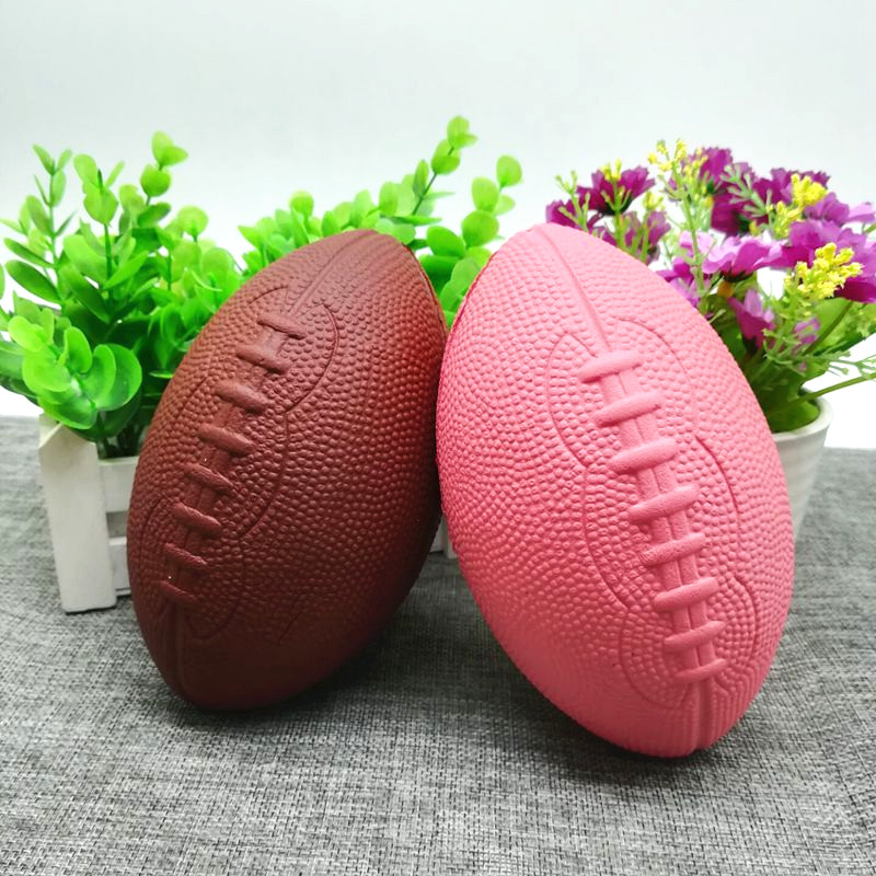 Squishy Football Rugby Jumbo 15cm Soft Slow Rising Collection Gift Decor Toy