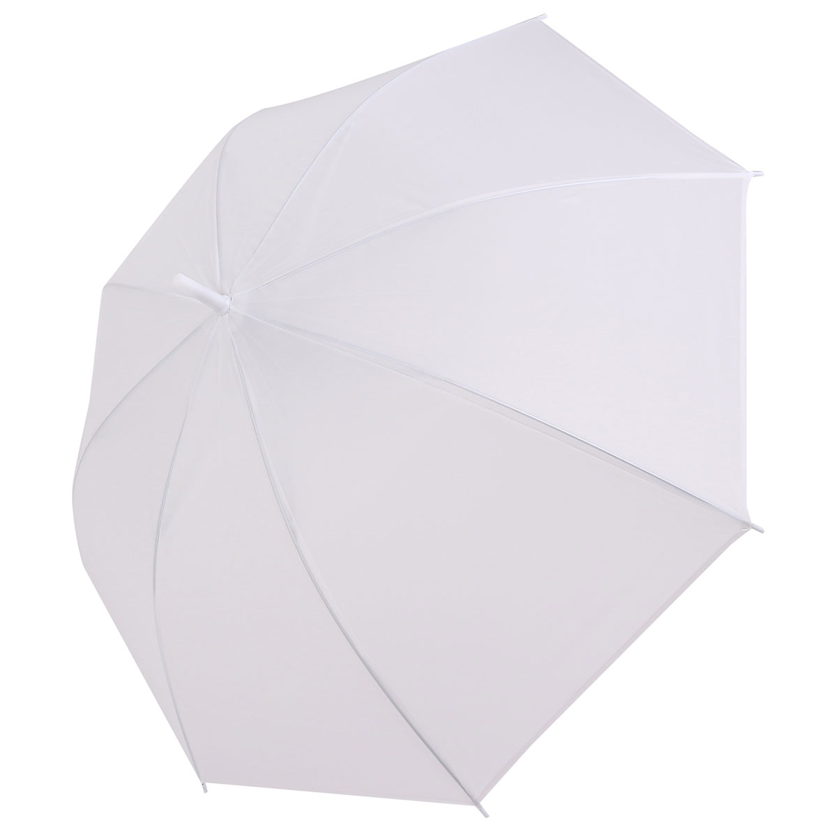 Dome White Transparent Umbrella Large Clear Scrub Parasol Sun Rain for Ladies Wedding