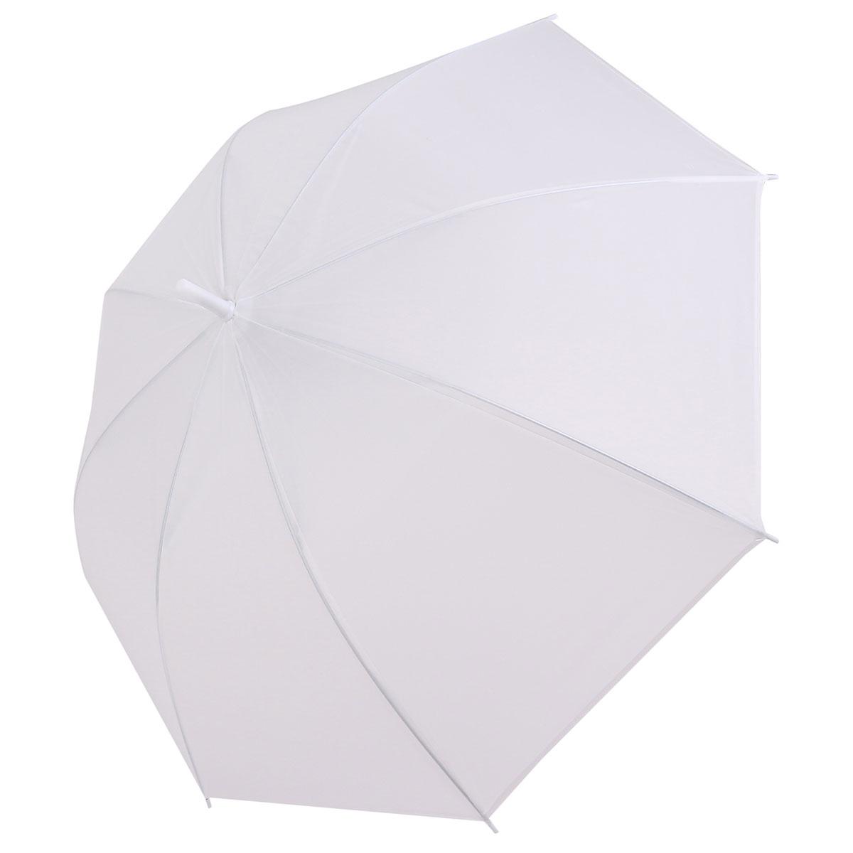 Dome White Transparent Umbrella Large Clear Scrub Parasol Sun Rain for Ladies Wedding
