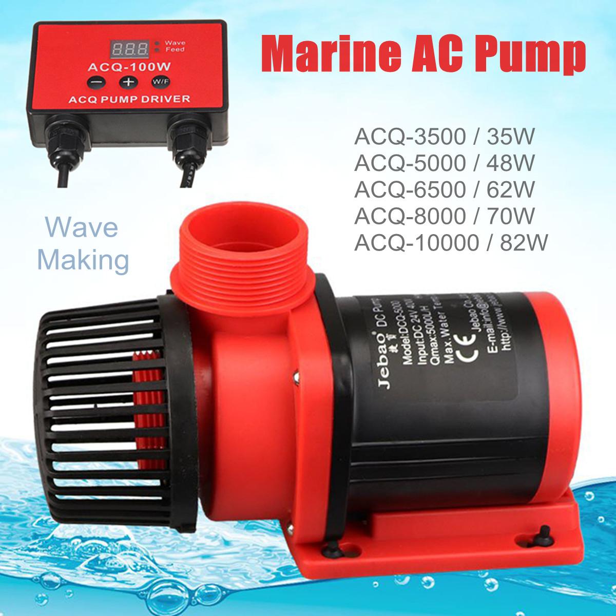 Jebao AC Aquarium Water Pump 35W-82W Fish Tank Marine Pond Remote Adjustable Return Pump