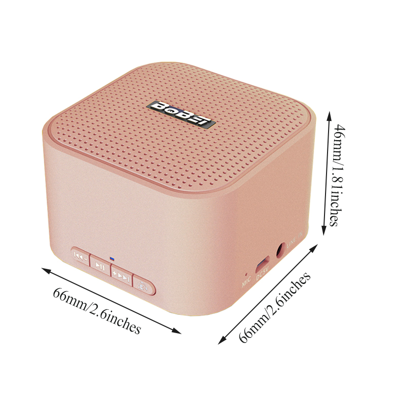 Mini Outdoor Portable Shockproof AUX-in 3D Stereo bluetooth Speaker With Mic