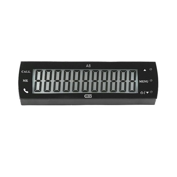 Phone Number & Date & Time Car Parking Moving Phone Number Digital Display Device
