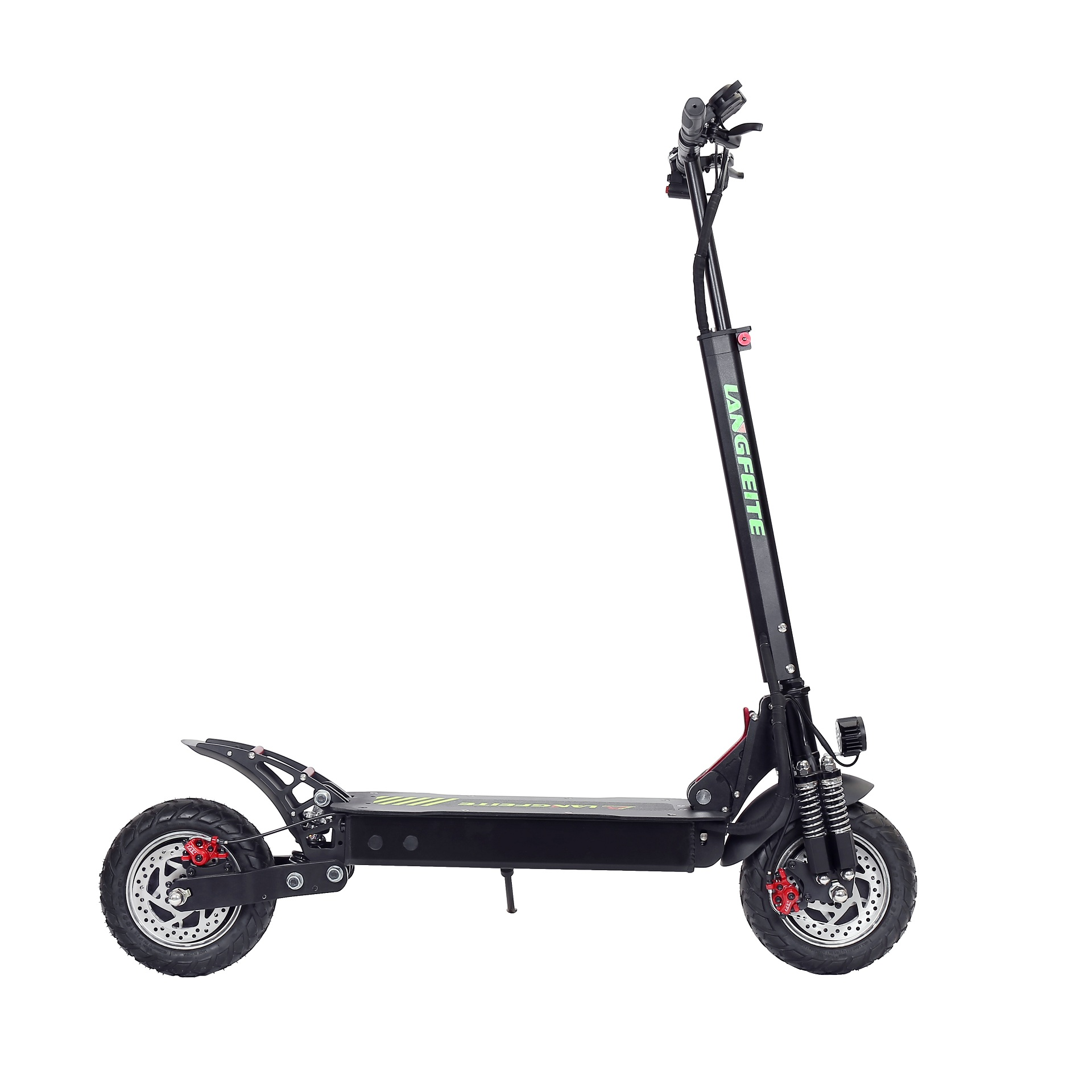 LANGFEITE L8S 2019 Version 20.8Ah 48V 800W*2 Dual Motor Folding Electric Scooter Color Display DC Brushless Motor 45km/h Top Speed 55km Range EU Plug