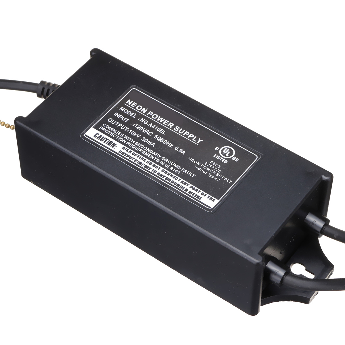110V Neon Sign Transformer 10KV 10000V 30mA 100W Electronic Power Supply