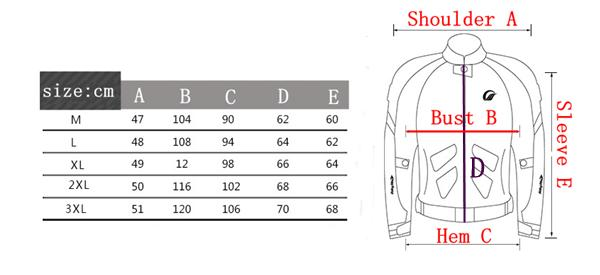 Motorcycle Racing Clothing Breathable Drop Resistance Clothes For JK-39