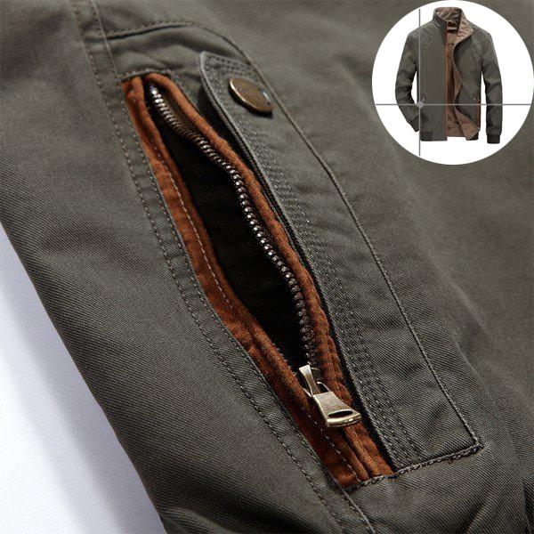Mens Outdoor Double Wear Jacket