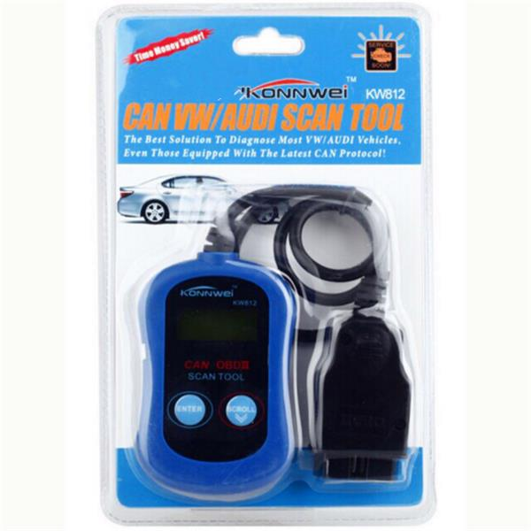 KONNWEI KW812 Code Reader VAG SCANNER Scan Tool CAN for VW/Audi