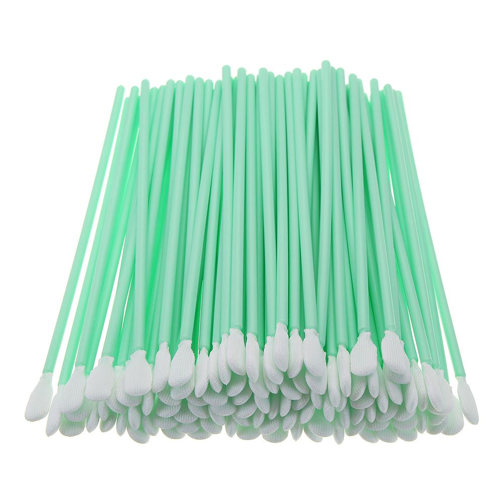 100pcs Foam Cleaning Swabs Industrial Dust-Free Cotton Swab Sponge Stick Dustproof Rods