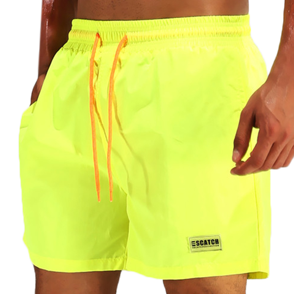 ESCATCH Waterproof Lightweight Casual Beach Board Shorts