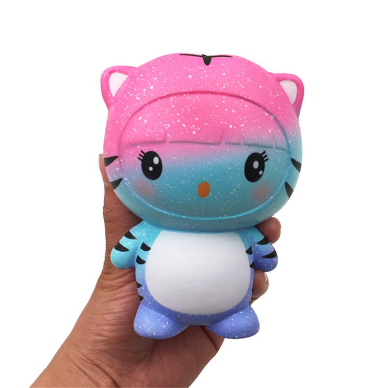 GiggleBread Tiger Squishy 12*9.5*7.5cm Slow Rising With Packaging Collection Gift Soft Toy