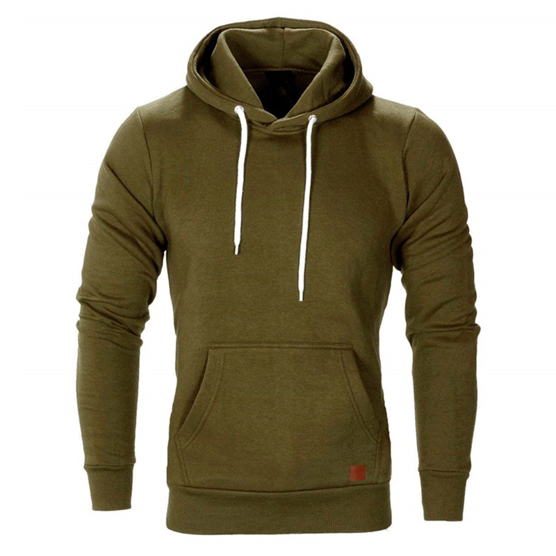 Men's Autumn Big Pockets Pullover Sports Sweatshirts