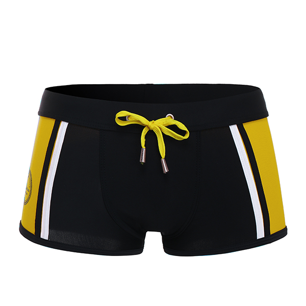 Men Summer Swim Trunks Hot Springs Seaside Surf Boxers Swimsuit