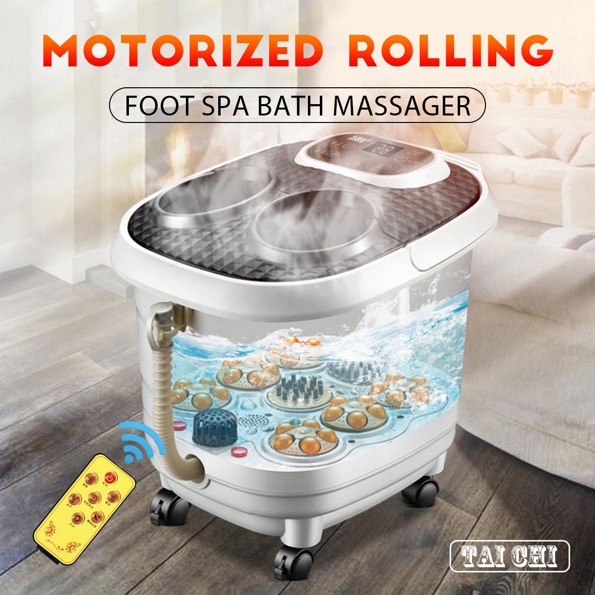 Foot Spa Bath Digital Massager Vibration Motorized Heater