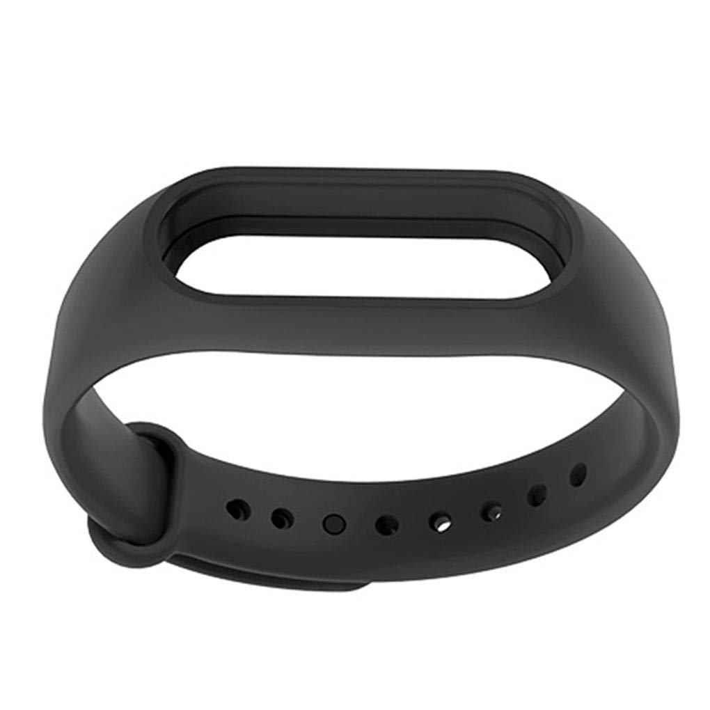 Bakeey Durable Replacement Silicone Watch Band Strap for Xiaomi Mi Band 2