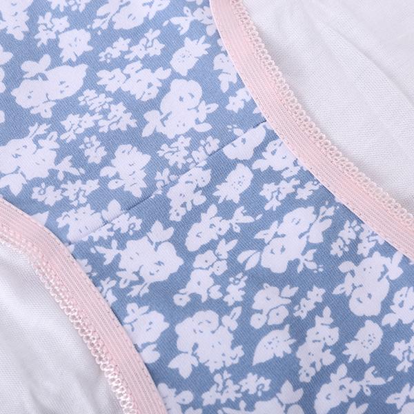 Soft Multicolor Bowknot Breathable Underwear Panties
