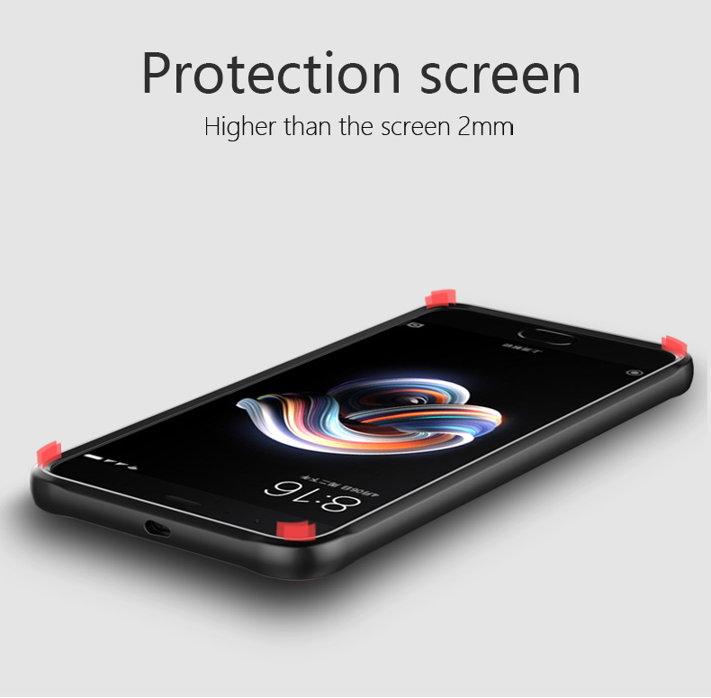 Bakeey Luxury Transparent Anti Fingerprint Silicone Acrylic Back Protective Case For Xiaomi Note 3
