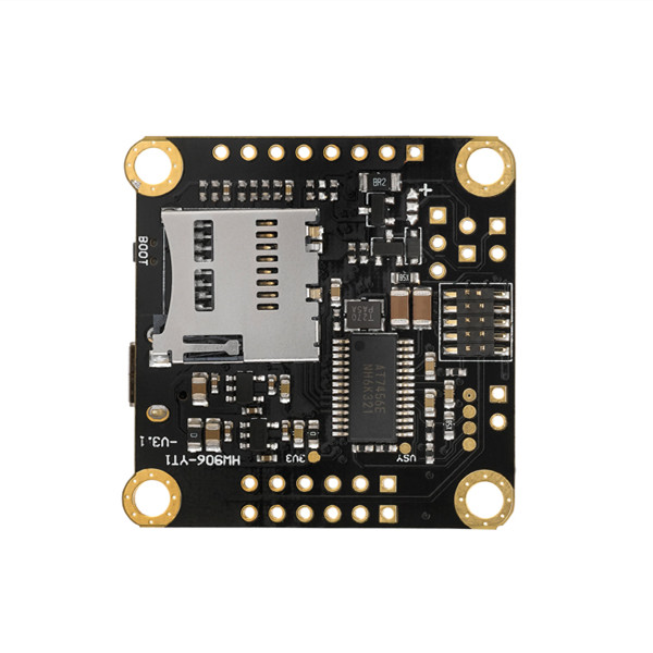 Hobbywing XRotor Omnibus F4 Flight Controller Built-in OSD Support DShot1200 Tf Card Insertion for RC Drone