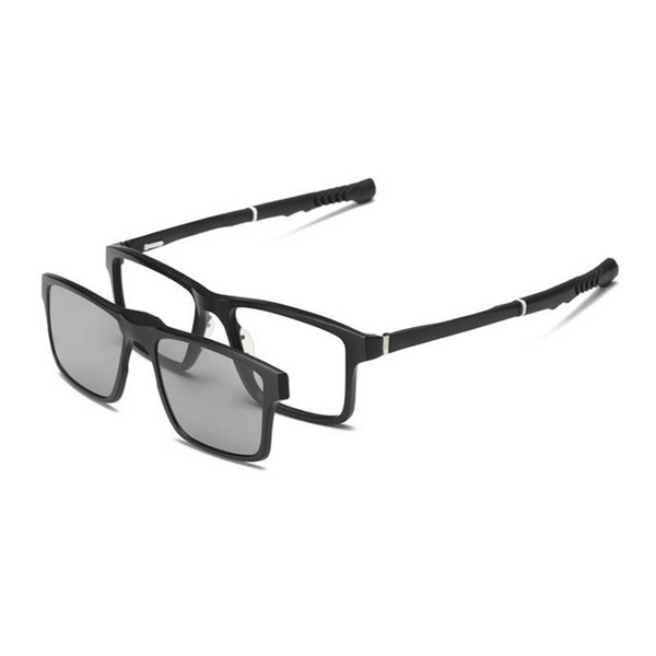 Two-in-One Retractable Sports Glasses Day and Night Pol