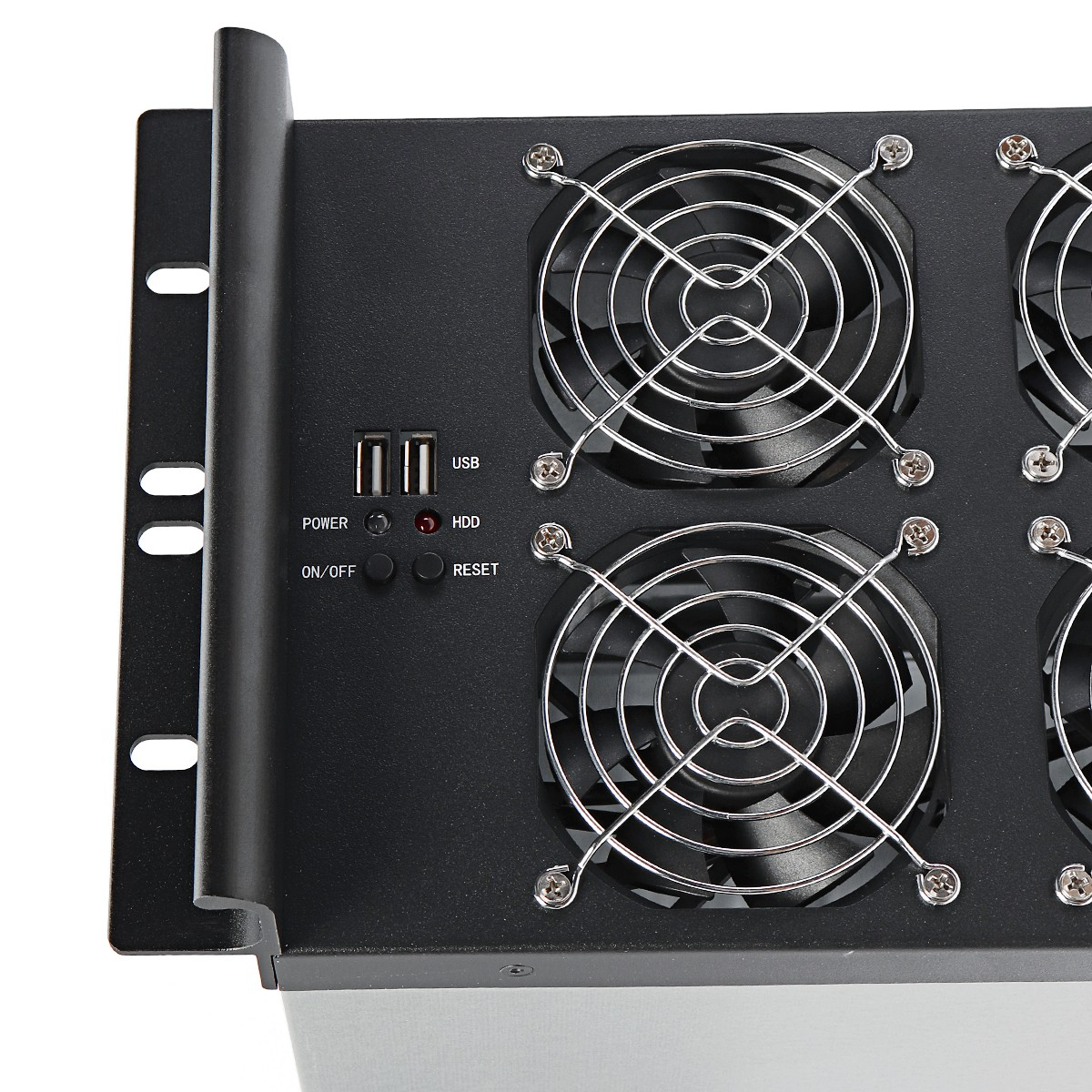 Crypto Coin Open Air Miner Frame Mining Rig Graphics Case With Fan For GPU ETH/BTC