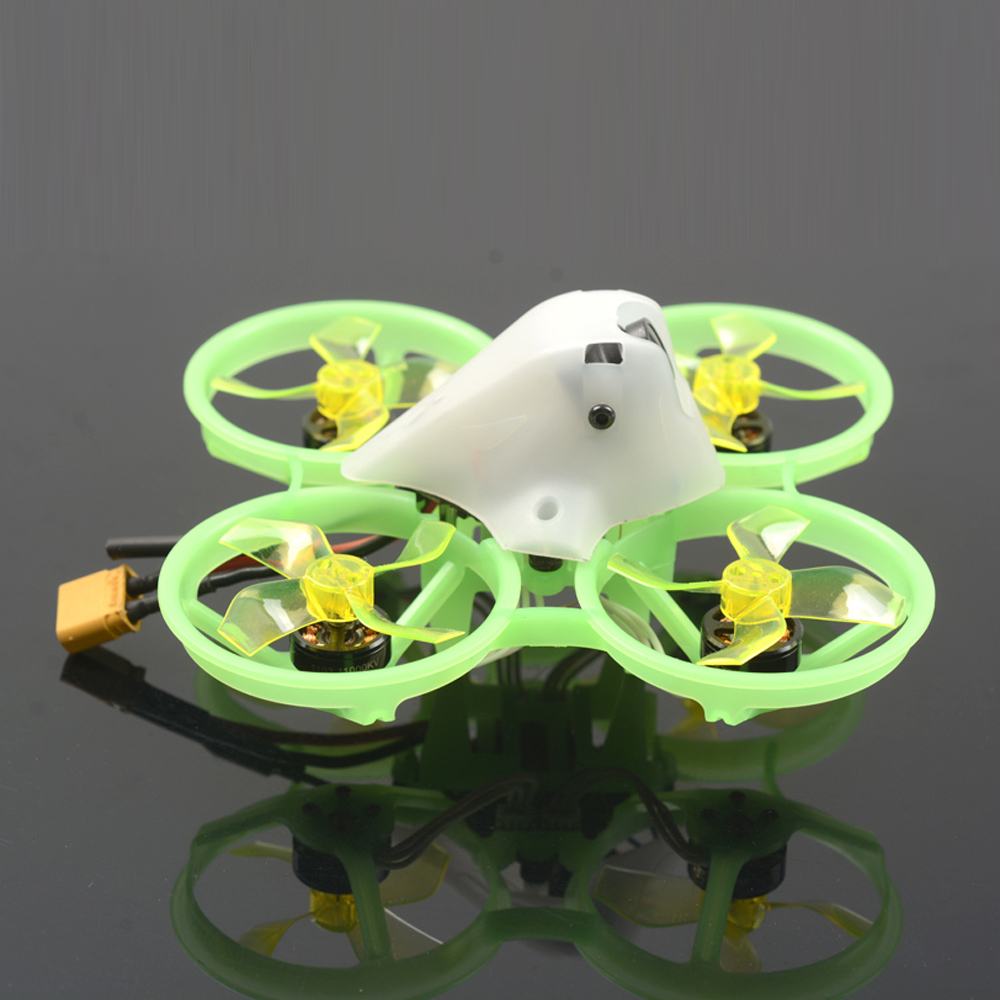 Skystars Tiny Frog 75X 75mm 2S Whoop FPV Racing Drone BNF AIO CrazyFrog FC OSD w/SPI Frsky Receiver 1-2S 5A ESC Runcam Nano2 Camera - Photo: 4