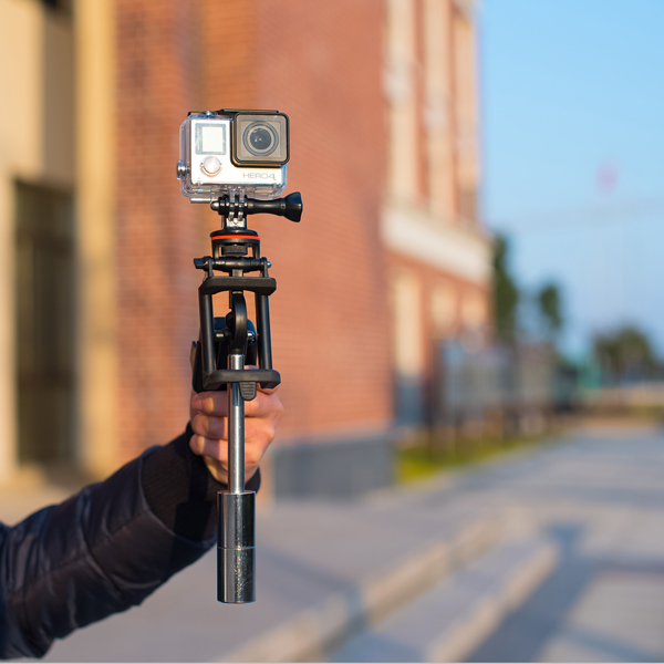 Handheld Gimbal Stabilizer Grip Steadicam for Gopro SJCAM YI MI Actioncameras Phone Accessories