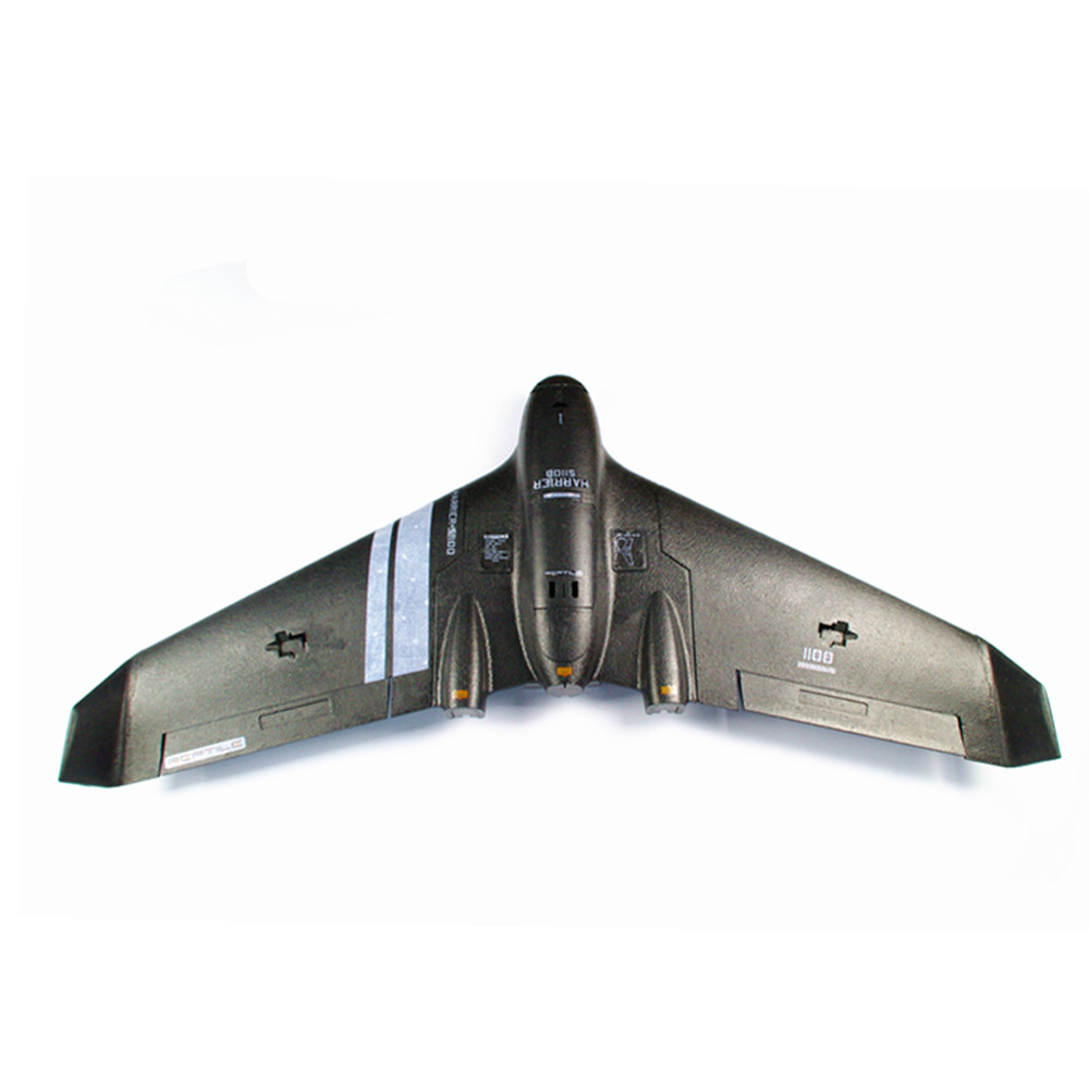 Reptile Harrier S1100 Black 1100mm Wingspan EPP FPV Flying Wing RC Airplane KIT