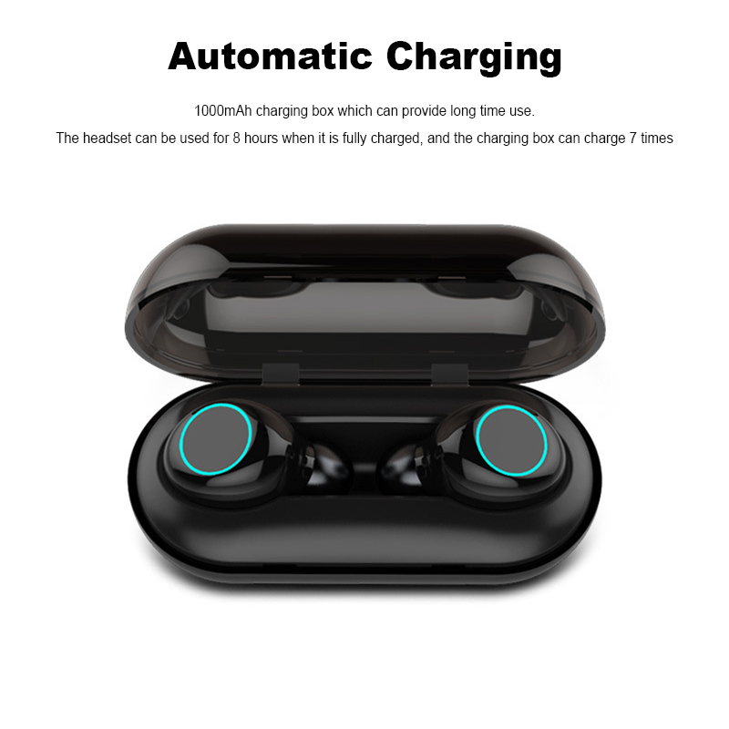 [bluetooth 5.0] Bakeey TWS Wireless Earphone IPX8 Waterproof Touch Control Noise Cancelling Headset