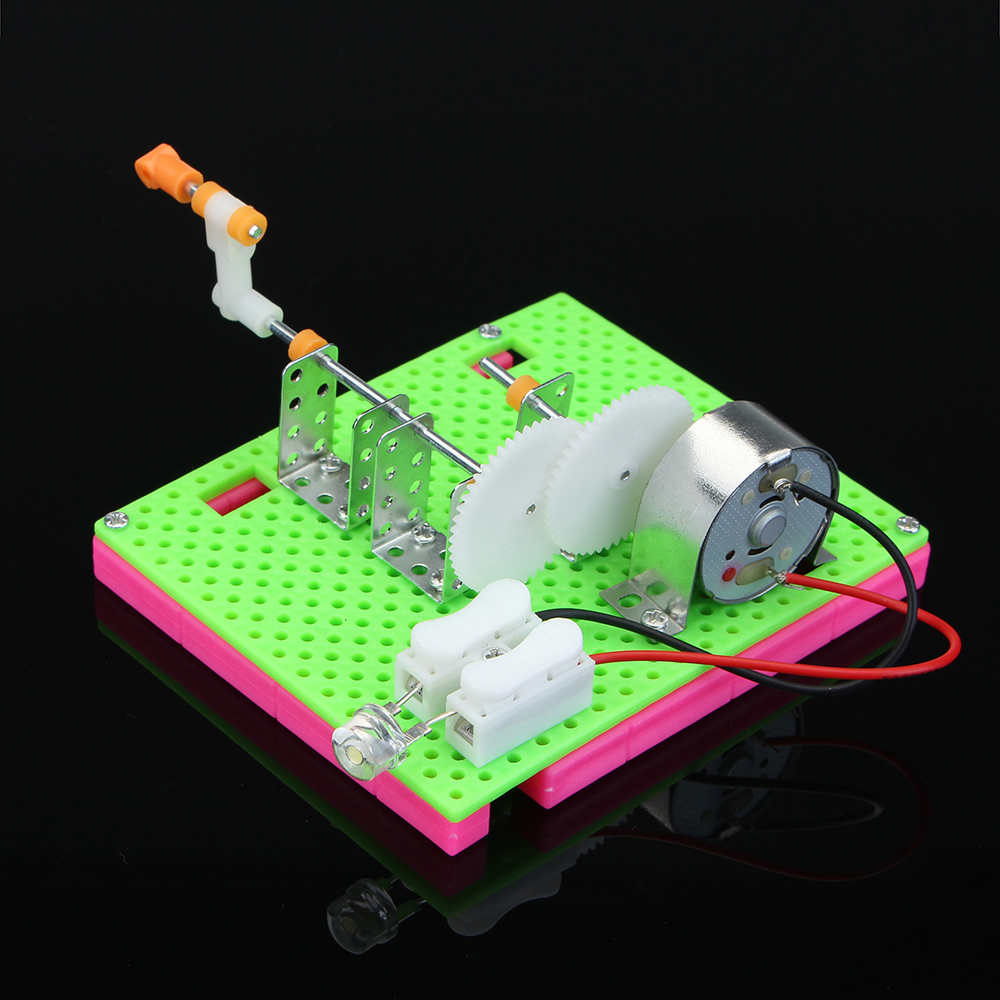 DIY Handmade Generator Model Making Children Manually Assembled Science Education Toys