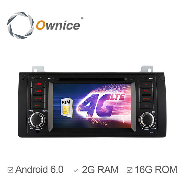 Ownice C500 OL-7957F HD 7Inch 4G Wifi Car MP5 Player Android 6.0 Quad Core GPS TV For BMW E39 M5