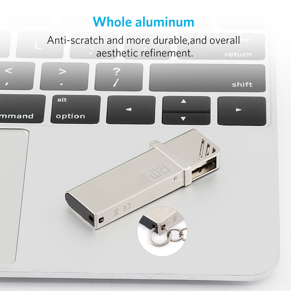 DM PD068 16GB Aluminium Alloy USB 3.0 USB Flash Drive USB Disk