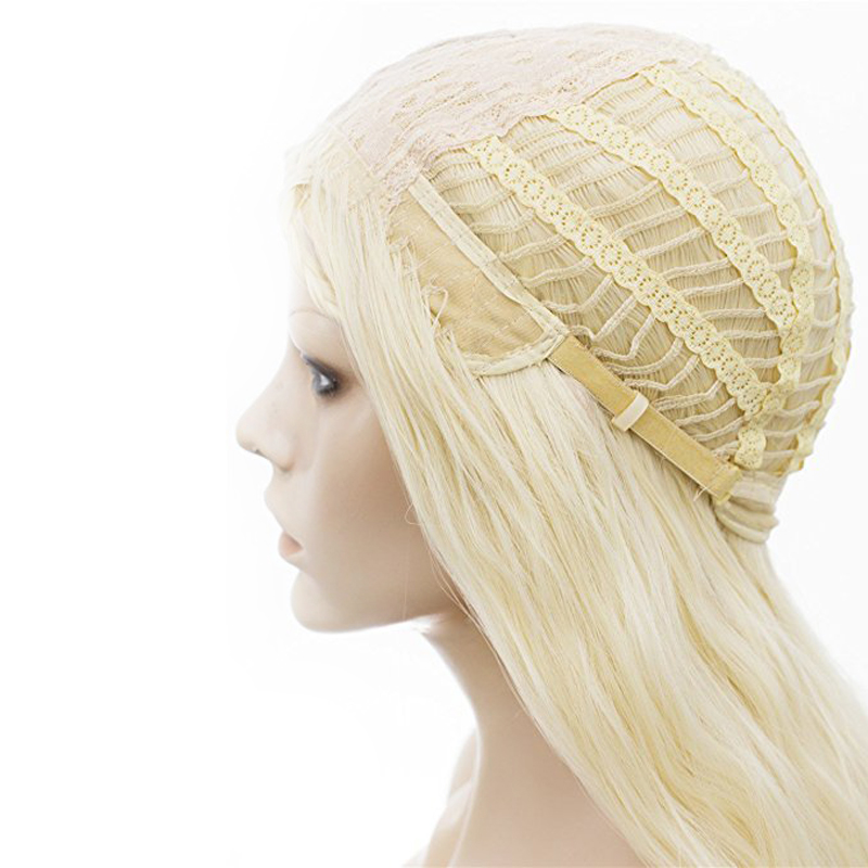 Blonde Matte High-Temperature Fiber Cosplay Wigs Long