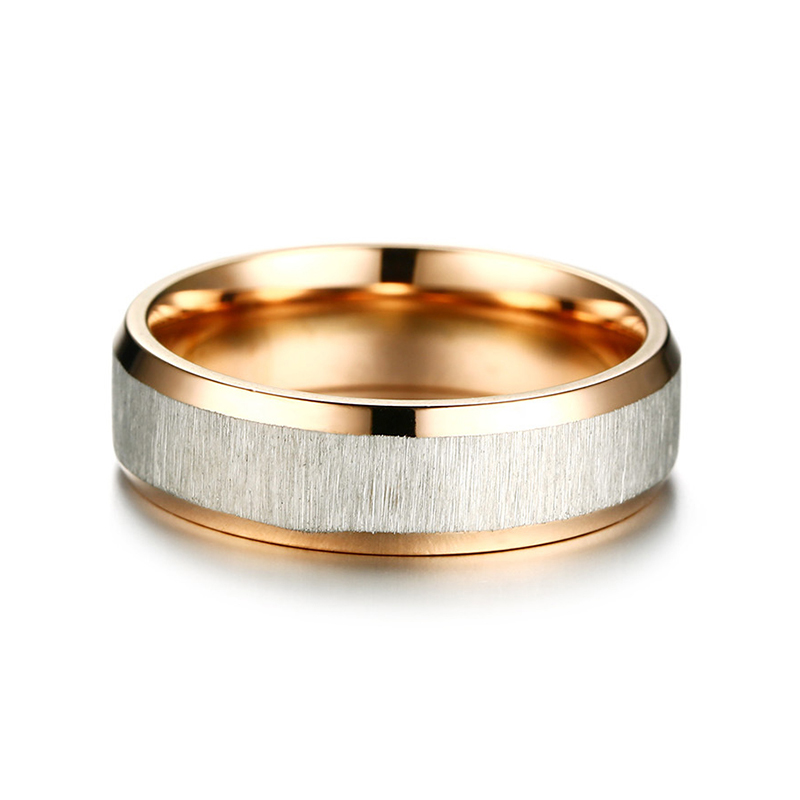 Fashion Stainless Steel Finger Ring