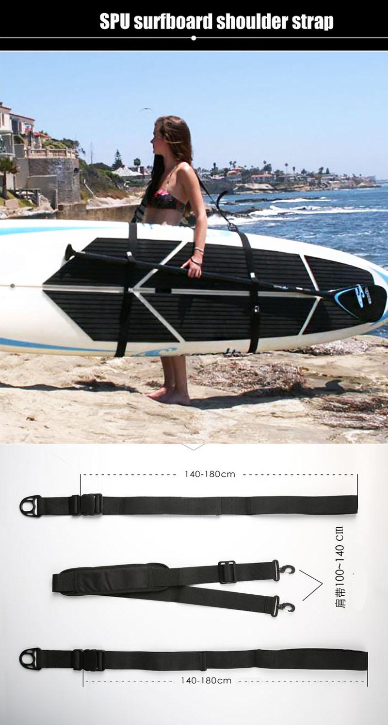 SUP Surfboard Shoulder Belt Adjustable Wakeboard Diving Boat Bra Straps