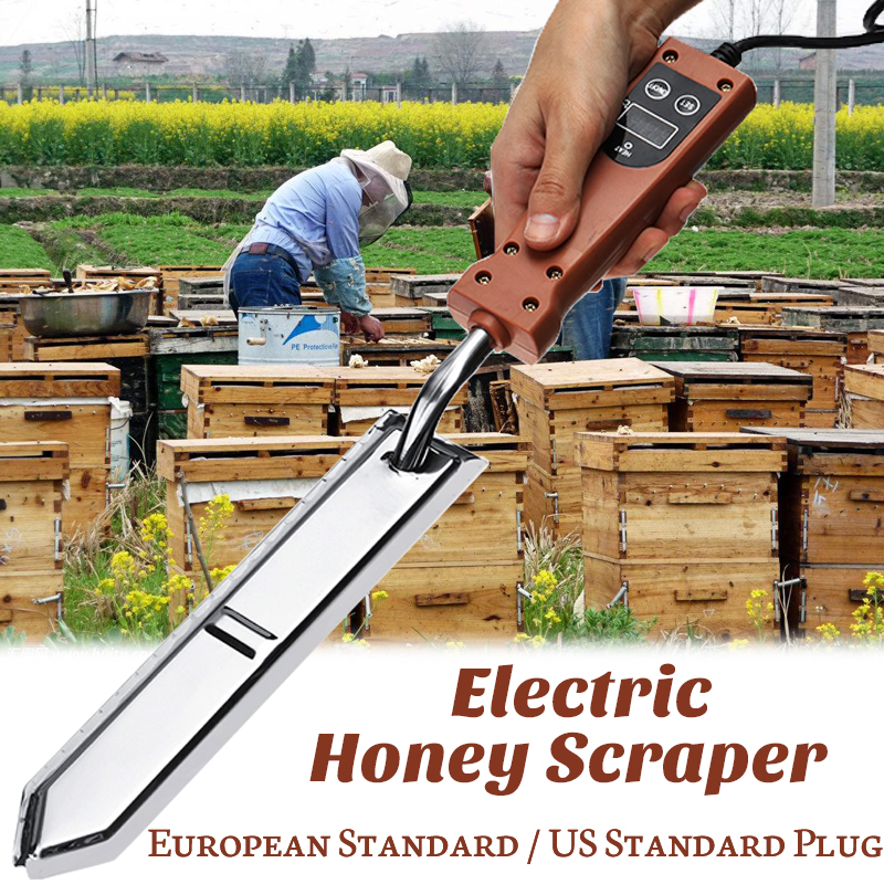 Electric Honey Scrapers Uncapping Honey Extractor Beekeeping Scraper Hot Knife