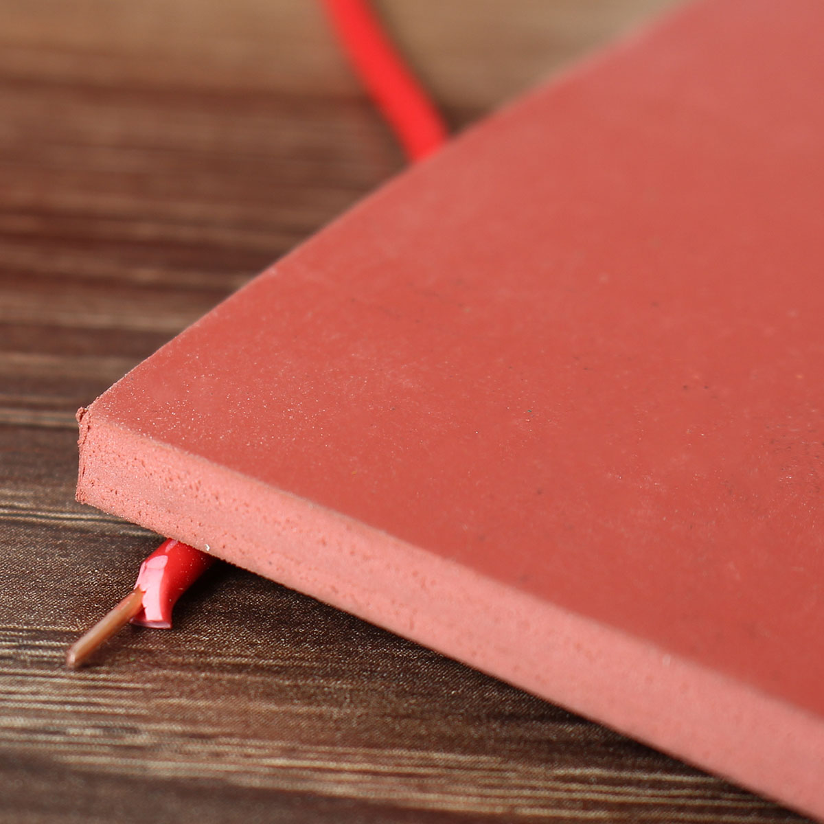 200x200x5mm Red Rubber Sheet Resistance-High Temperature Rubber Board