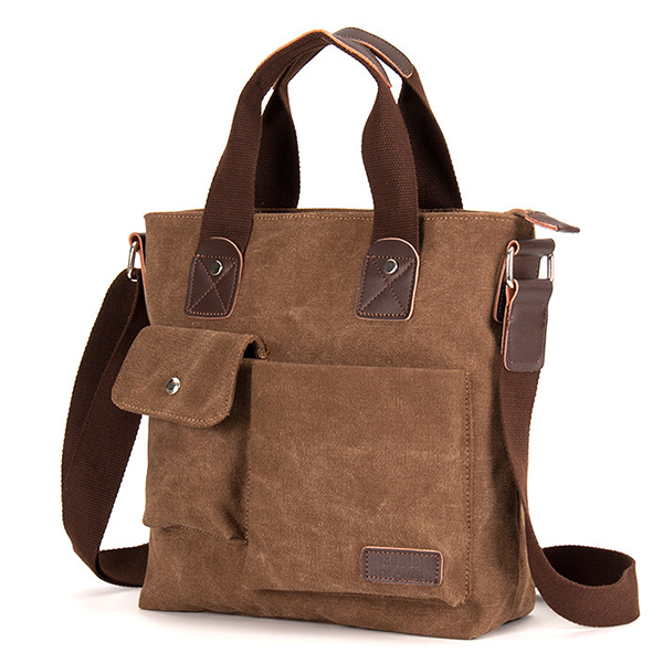 Canvas Crossboby Bag Casual Single-Shoulder Bag Handbag Briefcase For Men