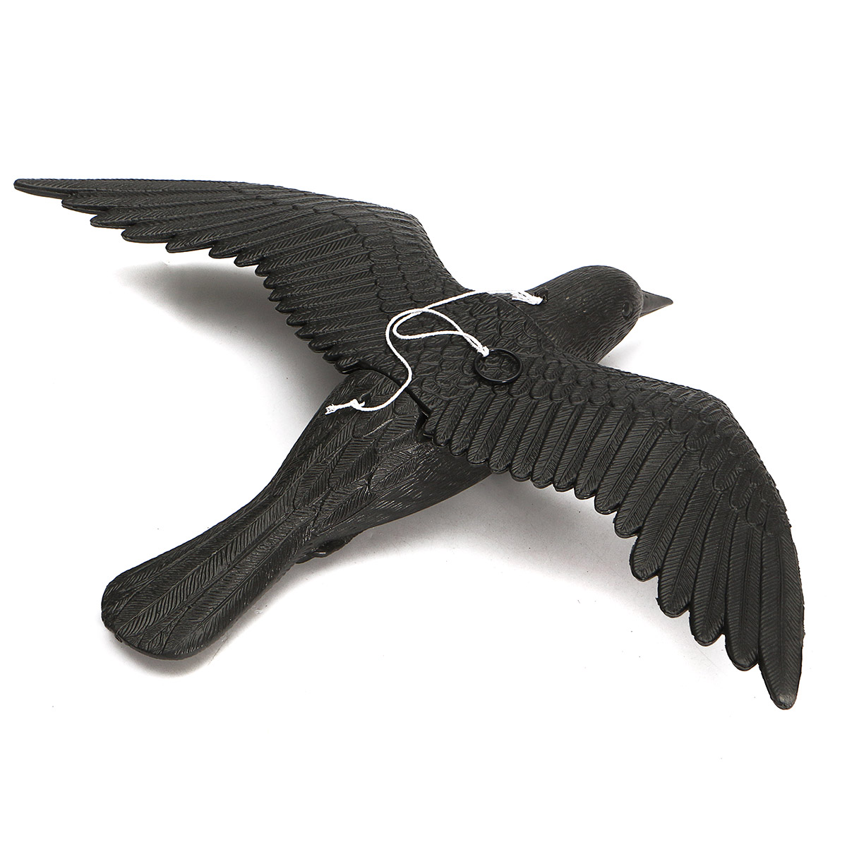 Fake Flying Falcon Crow Hallowmas Decorations Hunting Shooting Decoy Deterrent Repeller Garden Lawn