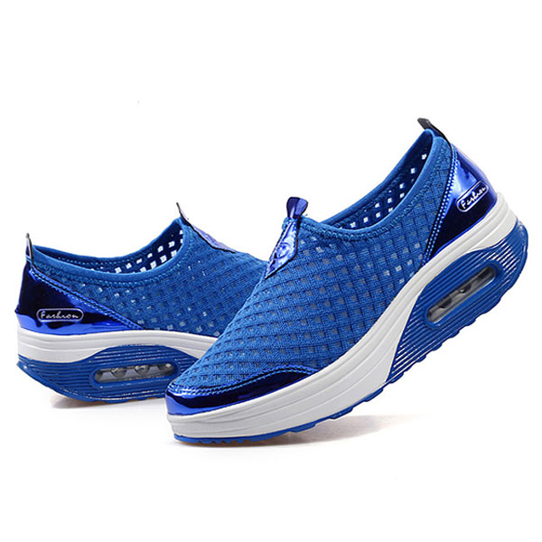 US Size 5-11 Women Mesh Breathable Outdoor Sport Running Shoes